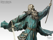 LORD OF THE RING BRONZE STATUE GANDALF, SIDESHOW COLLECTIBLE