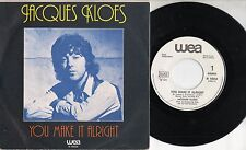JACQUES KLOES disco 45 STAMPA ITALIANA You make it alright MADE in ITALY promo