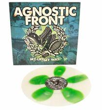 Agnostic Front - My Life My Way Ltd. 500 Units Splatter Vinyl Repress LP NEU/OVP