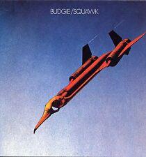 """BUDGIE """"SQUAWK"""" RE REPERTOIRE WHITE VINYL 1972/1989 AUTOGRAPHED"""