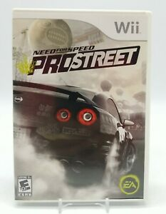 Need for Speed: ProStreet (Nintendo Wii, 2007) Complete in Box Very Clean Copy!