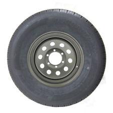 ST235/80R16 GlobalTrax Trailer Tire LRE on 6 Bolt Silver Mod Wheel
