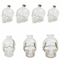 Skull Head Whiskey Vodka Wine Decanter Bottle Glass Beer Spirit Home Party Decor
