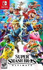 Super Smash Bros Ultimate - Switch - Lire description