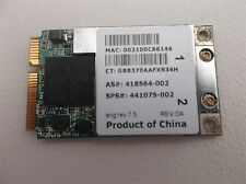 Scheda modulo WiFi wireless per HP COMPAQ 6820s 441075-002 418564-002 board card