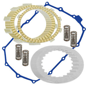 Clutch Friction Plates And Gasket Kit for Honda VT600C Shadow VLX 600 1988-1998