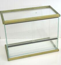 Rettilario Terrario Terrarium Teca vetro per rettili serpenti serpente 43-50cm