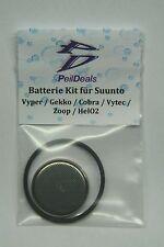Batterie-Set / Kit für SUUNTO Vyper, Gekko, Cobra, Vytec, Zoop,  HelO2