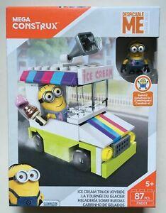 Ice Cream Truck Joyride Despicable Me Mega Blocks Constructor 87 pcs Sealed New