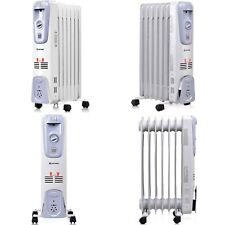 Radiator Space Heater 1500 Watt Electric Oil Filled Great for Small Medium Room