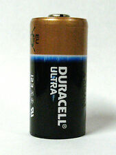 12 - Duracell Ultra 123 CR123A Lithium 3v Battery - dated 2024 - Made in USA !!