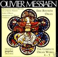 MESSIAEN complete organ works VOL.4 & 5 / BOSTROM