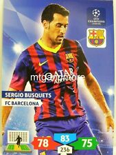 Adrenalyn XL Champions League 13/14 - Sergio Busquets - FC Barcelona