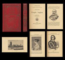 Histoire du peuple Anglais 1908 H. Sée Gravures ENGLAND