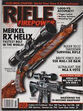 RIFLE FIRE POWER NOV 2012, Merkel RX Helix Ruger MGA K Yote Armalite Field Tests