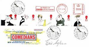 Eric SYKES SIGNED Autograph Comedians FDC AFTAL RD COA British Comedian