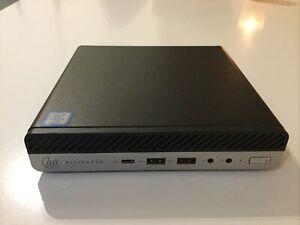HP EliteDesk 800 G3 Desktop Mini i5-7500t, 8 Go RAM, HDD 500Gb