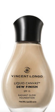 Vincent Longo Liquid Canvas Dew Finish Foundation in Warm Beige #4