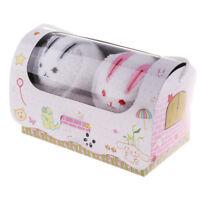 Coton Bébé Serviette de Visage Absorban Lingettes de Bain Gant de Toilette