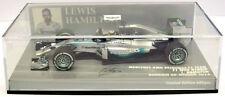 Minichamps Mercedes W05 L Hamilton, Bahrain GP 2014 Ltd Ed 1:43 Scale 410 140244