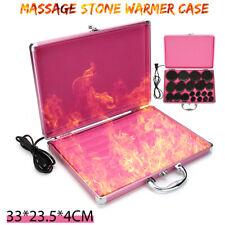 Hot Massage Stones Basalt Rock Heating Boxes Warmer Case Salon SPA Store