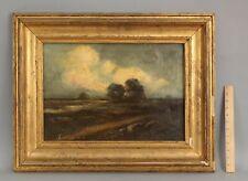Antique Impressionist Landscape O/C Oil Painting, Gilded Frame NO Reserve!