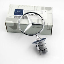 Mercedes-Benz Front Hood Ornament Mounted Star Logo Badge Emblem