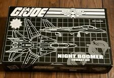 GI Joe Club Exclusive Night Force 2013 Night Boomer Combat Jet - 1989 Reissue