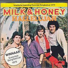 "45 T SP  MILK & HONEY  ""HALLELUJAH""  (EUROVISION 1979 / ISRAEL)"