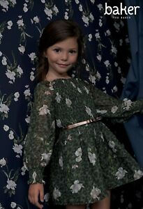 Ted Baker Khaki Shired Playsuit 7 Years