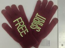 Women's BCBG GENERATION Burgundy FREE SPIRIT Gloves -1 size - $28 MSRP - 20%