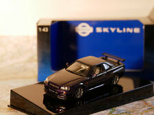 AUTO ART NISSAN SKYLINE R34 GTR 1999 PURPLE ART.57303 NEW DIE-CAST 1:43