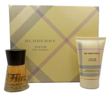 BURBERRY TOUCH FOR WOMEN GIFT SET WITH EDP SPRAY 1.7 OZ.+BODY LOTION 3.3 OZ. (D)