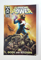 "Supreme Power ""Gods and Soldiers"" Vol 1 (2011) Marvel Comics New TPB/Softcover"