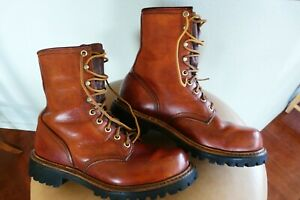 vtg  1970's Red Wing Irish Setter Boots sz 6.5  USA