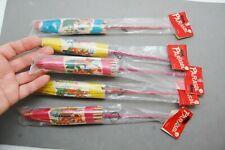 "Paper Parasol Toy Umbrella Japan Large 11"" Old Stock Lot 5 Original Package NIP"