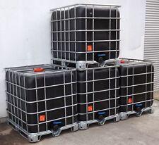 Sorgfältig gereinigter IBC Behälter, Tank auf Stahlpalette, 1.000 Ltr.