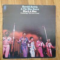 HAROLD MELVIN & The Blue Notes Black & Blue 1973 NM Vinyl LP VG+ Gatefold Cover