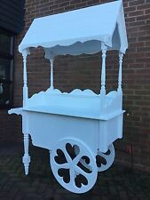 CANDY CART WEDDING SWEETS BARROW MARKET STALL TROLLEY STALL NEW FOR SALE