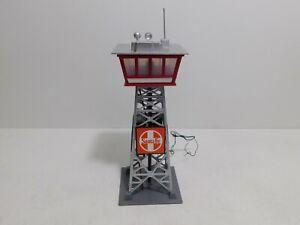 Life-Like HO Sante Fe Lighted Yard Tower 8208 - Pre-Built Kit Light Works