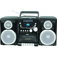 Naxa Portable CD Player with AM/FM Stereo Radio Cassette Player/Recorder &