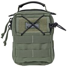 """New Authentic Maxpedition FR-1 Medical Pouch Foliage Nylon 7"""" X 5"""" X 3 0226F"""