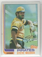 1982 Topps Baseball Pittsburgh Pirates Team Set