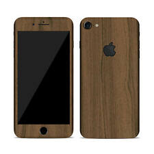Textured Skin Sticker for APPLE iPHONE 7 Carbon - Wood - Matt - Tempered Glass