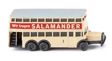 """Wiking 097303 N 1 160 - Berliner Doppeldeckerbus D 38 """"salamander"""""""