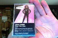 Jean Carne- Closer Than Close- 1986- new/sealed cassette tape