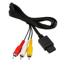 6FT AV TV Video Cord Cable for Nintendo 64 N64 GameCube NGC