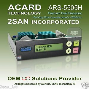 ACARD ARS-5505H 1-to-5 SATA HDD/SSD/DOM Duplicator Controller (100MB/Sec)