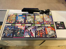 Microsoft Xbox 360 Kinect Sensor Bar with Power Adapter And 11 Games