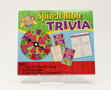 BIBLE SPIN-IT TRIVIA GAME- NEW Sealed - Educational